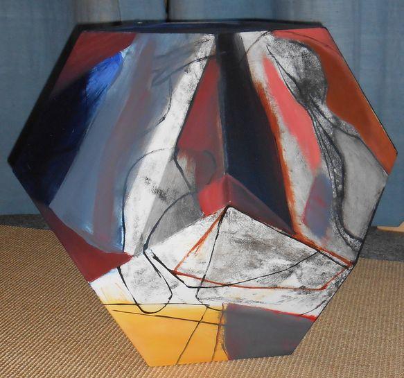 Pentagondodekaeder / Sitzdodekaeder Deckel abnehmbar
