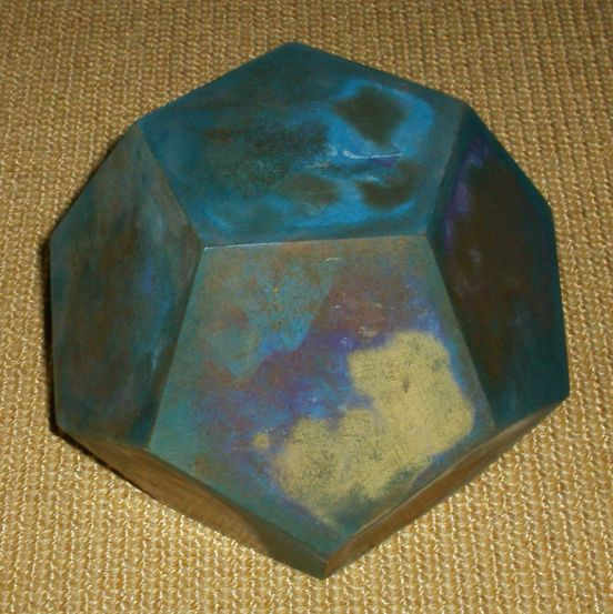 Dodekaeder, Höhe 15 cm