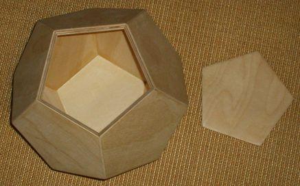 platonischer Körper --> Dodekaeder Birke Multiplex