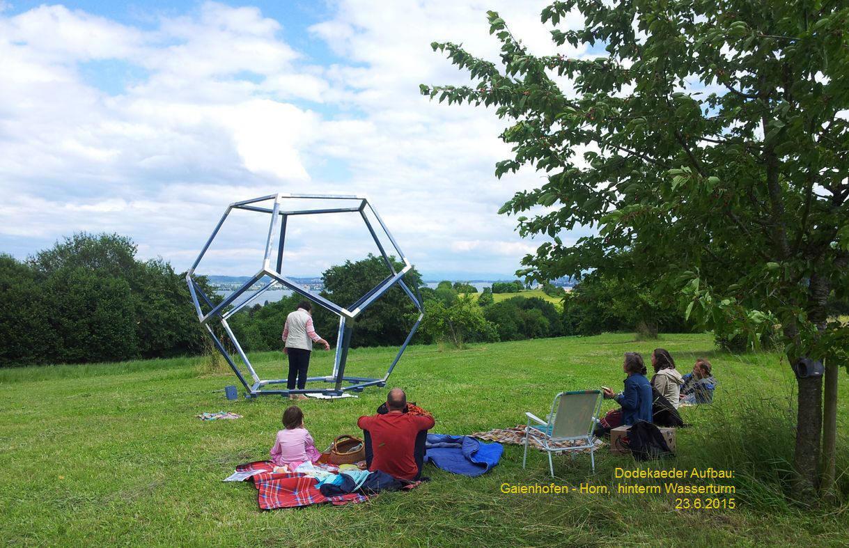 platonischer Körper- das Gartenhaus-Dodekaeder