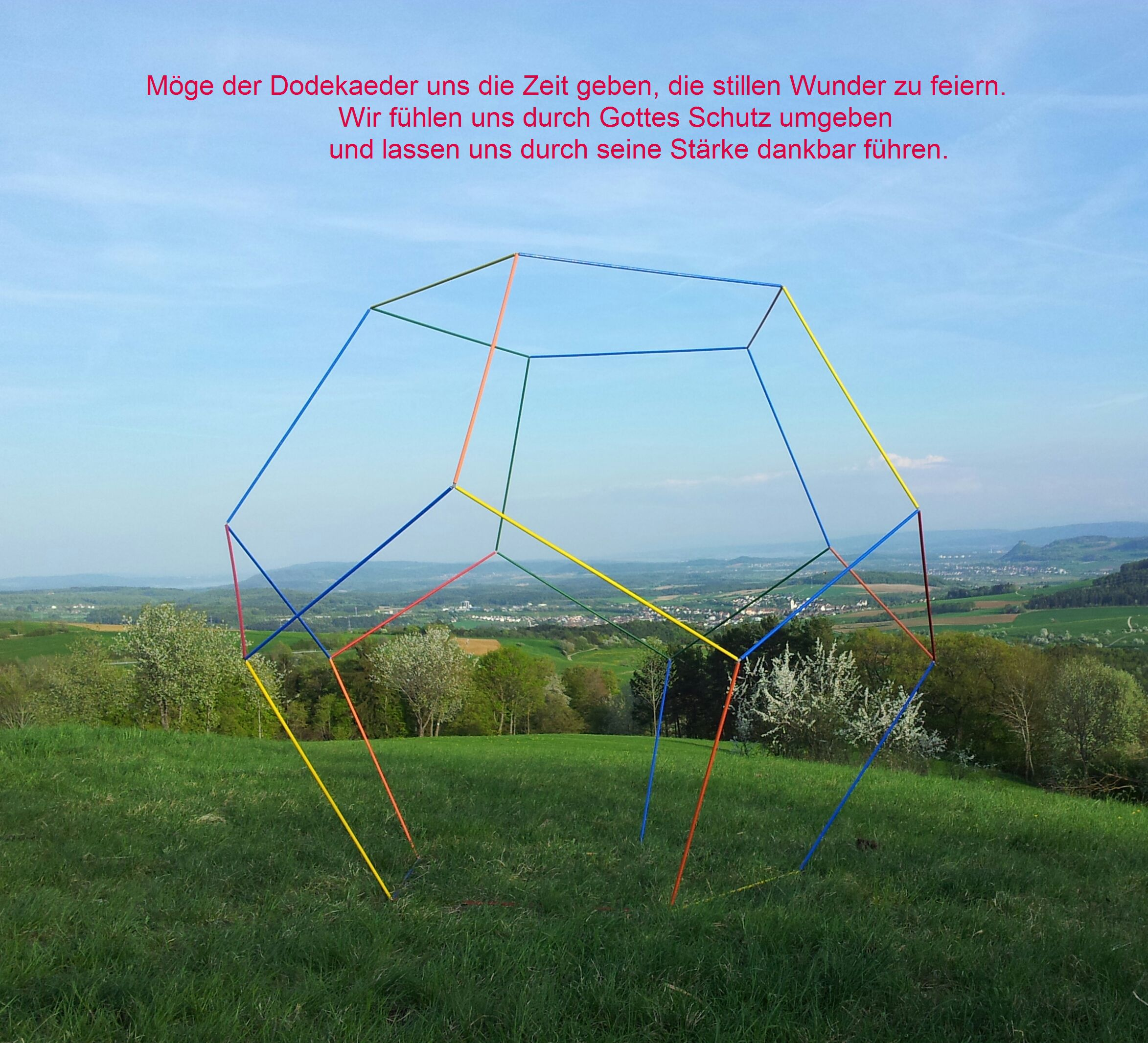 www.owaye.com begehbarer Pentagondodekaeder Dodekaeder Schmuck usw.