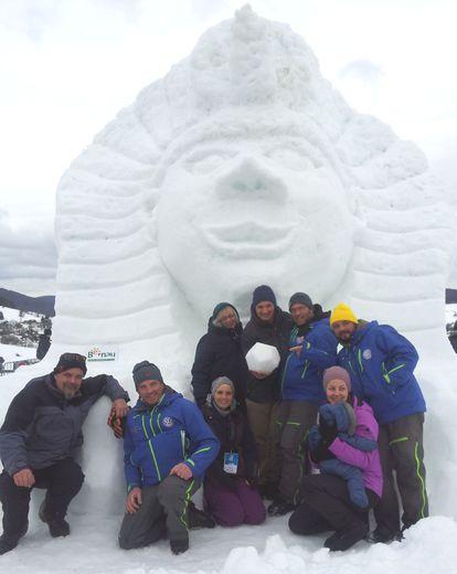 Bernauer Schneeskulpturen Festival 2019